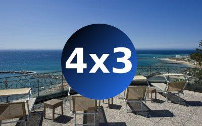 """""""4×3…una fuga imperdibile sulla riviera dei fiori""""   a partire da 264 €"""