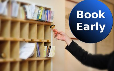 Promotion: Book early